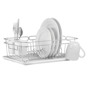 Perfect 3 Piece Twisted Dish Rack Set