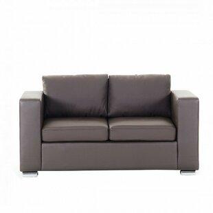Denmark Leather 2 Seater Sofa