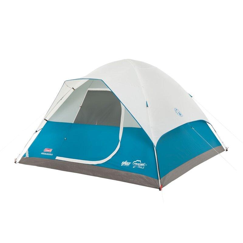 Longs Peak Fast Pitch Dome 6 Person Tent  sc 1 st  Wayfair & Coleman Longs Peak Fast Pitch Dome 6 Person Tent u0026 Reviews | Wayfair