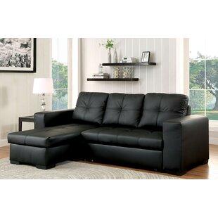 leather sectional sleeper sofa Leather Sleeper Sectionals You'll Love | Wayfair leather sectional sleeper sofa