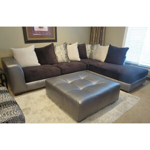 Shimmer Sectional by Roundhill Furniture