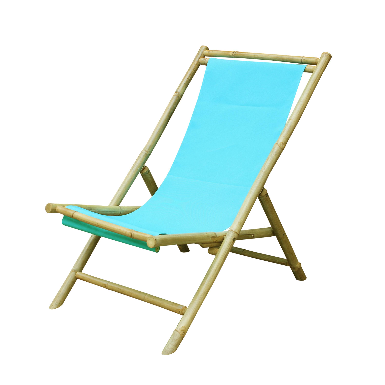 ZEW Sling Folding Beach Chair & Reviews