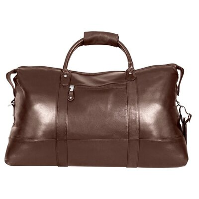 """Falls Canyon 22"""" Travel Duffel Canyon Outback Leather Color: Brown"""