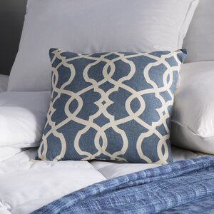 Brennan Damask Throw Pillow