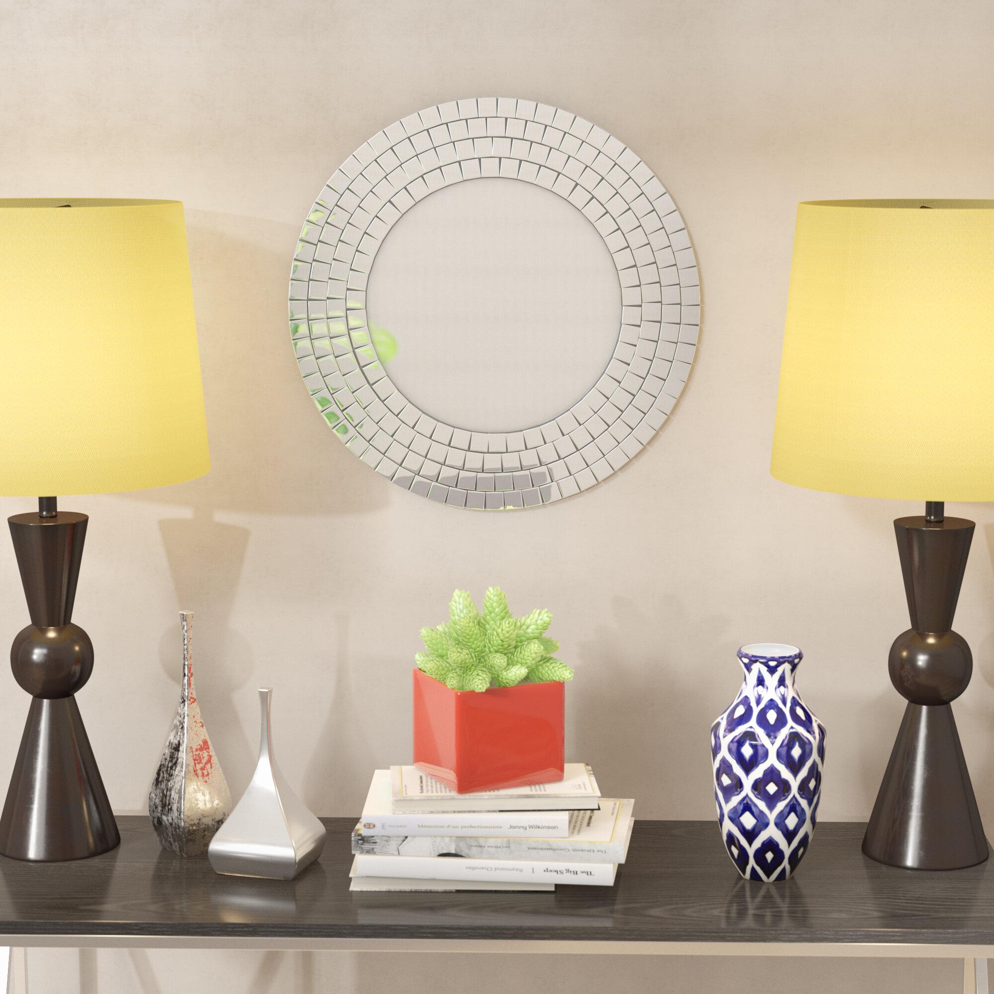 Glass Mosaic Mirror Wayfair