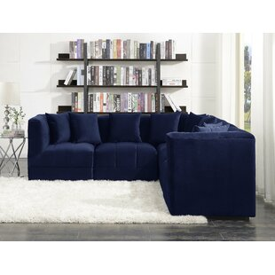 Blue Reversible Sectionals You\'ll Love in 2019 | Wayfair