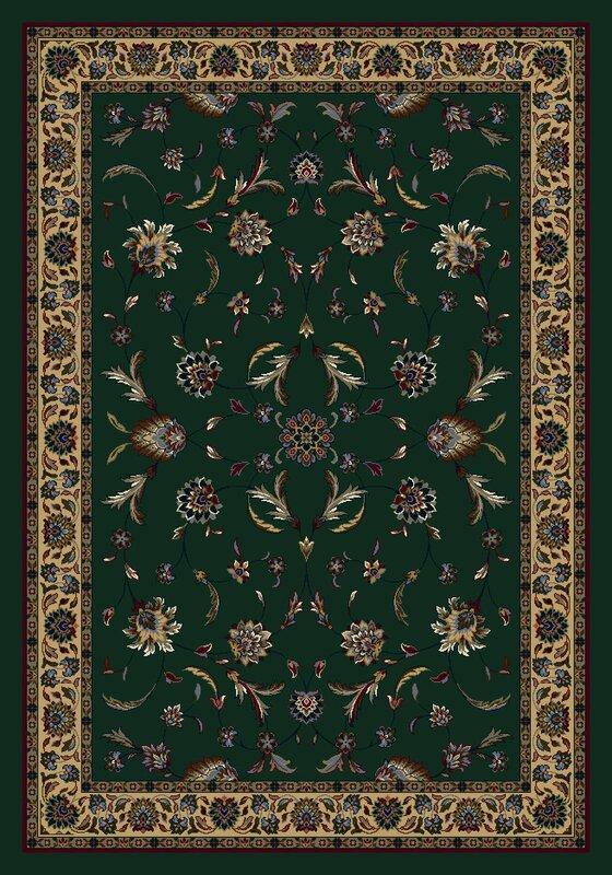 Signature Isfahan Emerald Area Rug