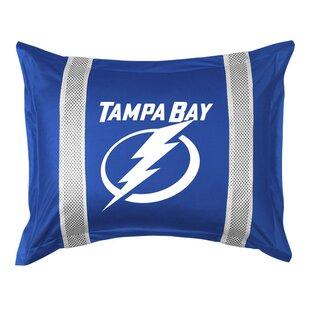 Sports Coverage Tampa Bay Lightning Standard Pillowcase Bedding