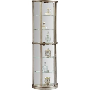 Gracelyn Lighted Curio Cabinet