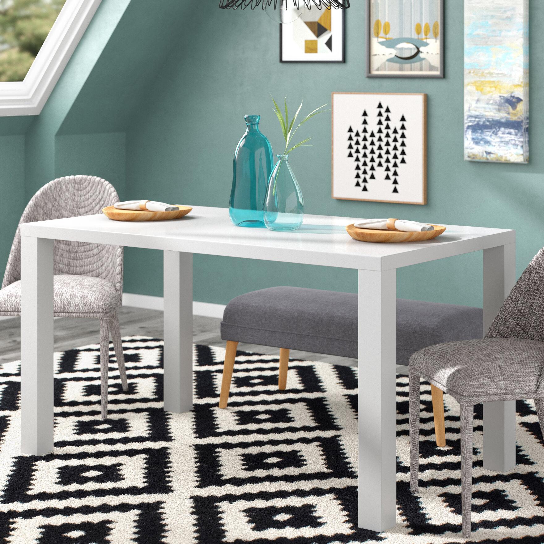 Brayden Studio Mcwhorter Dining Table & Reviews   Wayfair