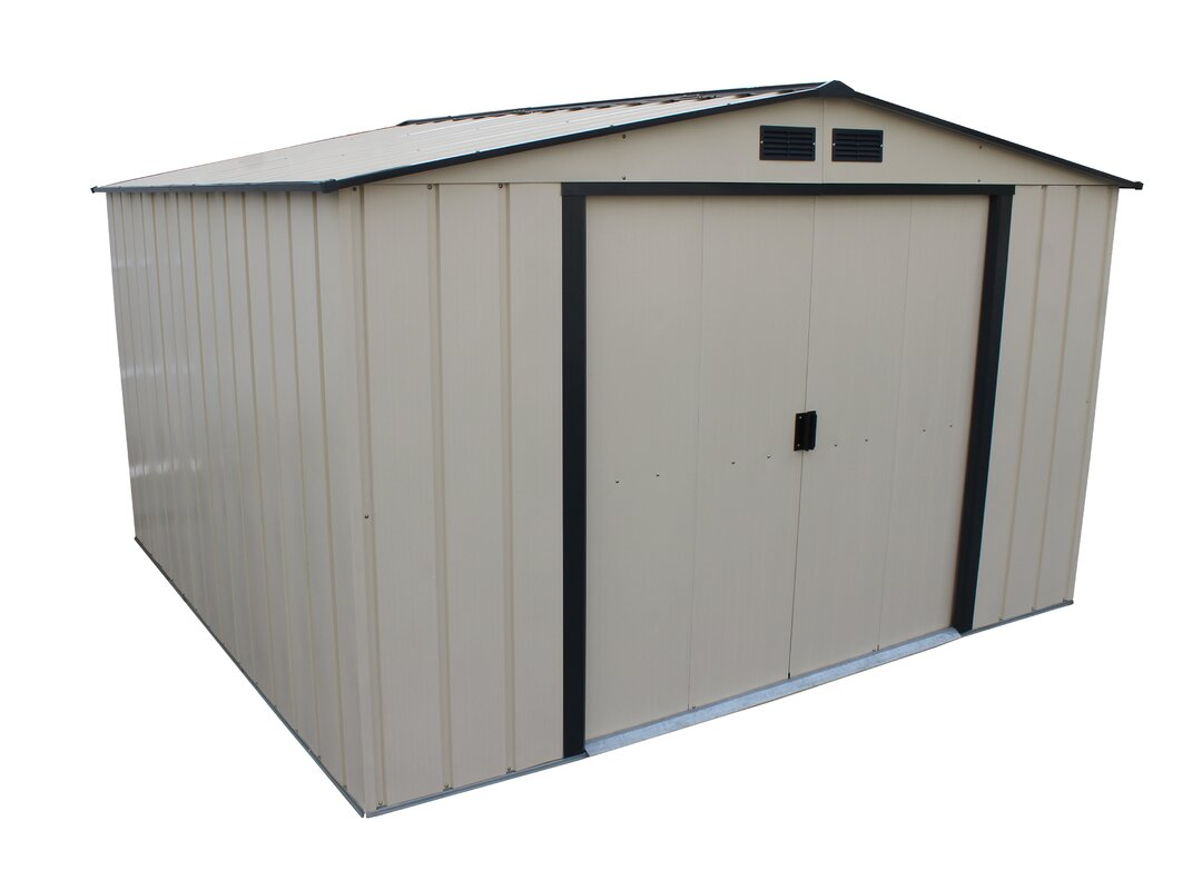 7 in w x 9 ft 11 in d - Garden Sheds 7 X 9