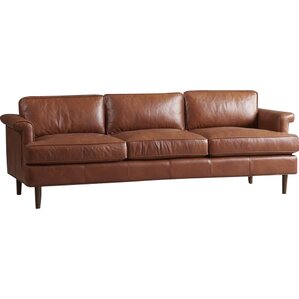 Carson Leather Sofa by Dwe..