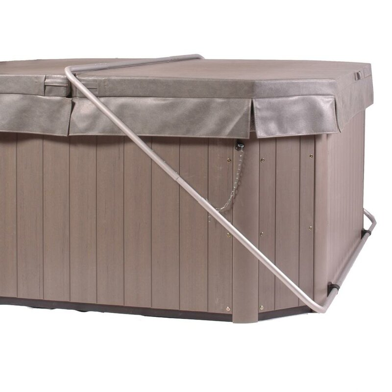 Smart Spa Cover Butler Bottom Mount Spa Cover Lifter | Wayfair