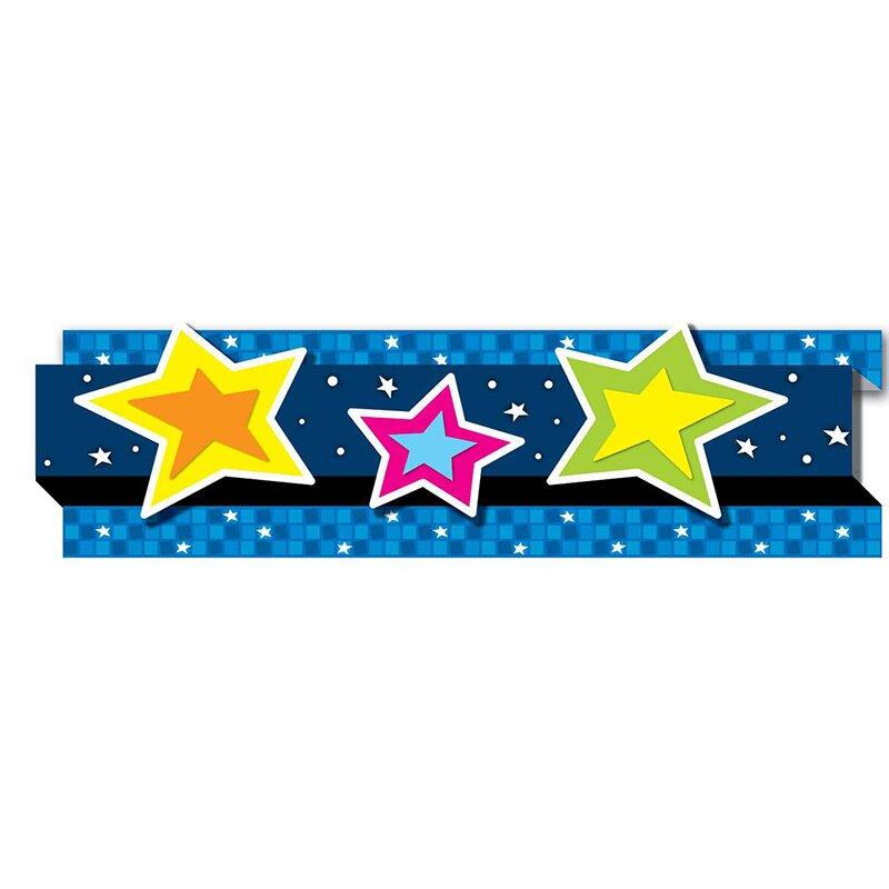 Pop-its Stars Classroom Border