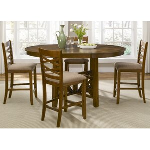 Mendota 5 Piece Dining Set by Loon Peak