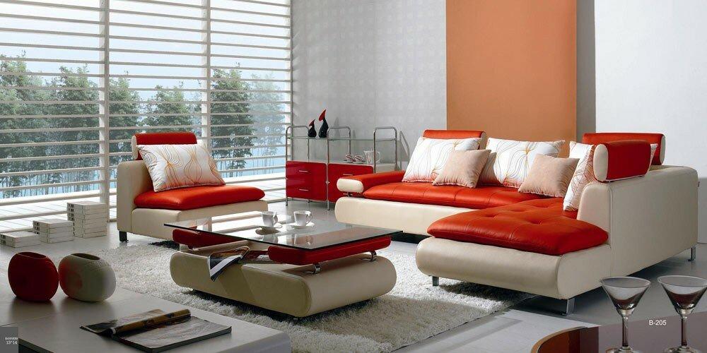 Orren Ellis Adrianne 4 Piece Living Room Set & Reviews | Wayfair