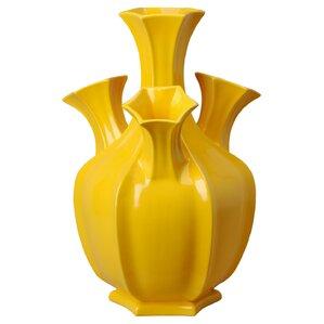 Perfect Clair 4 Spout Pomegranate Floor Vase