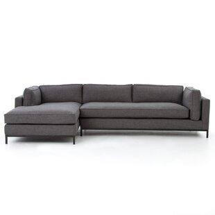 2 Pc Sectional Sofa | Wayfair