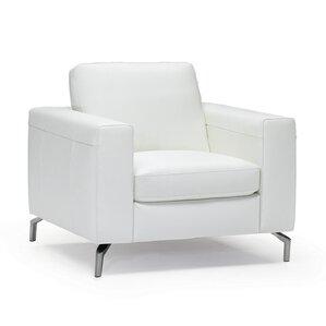 fabio leather armchair