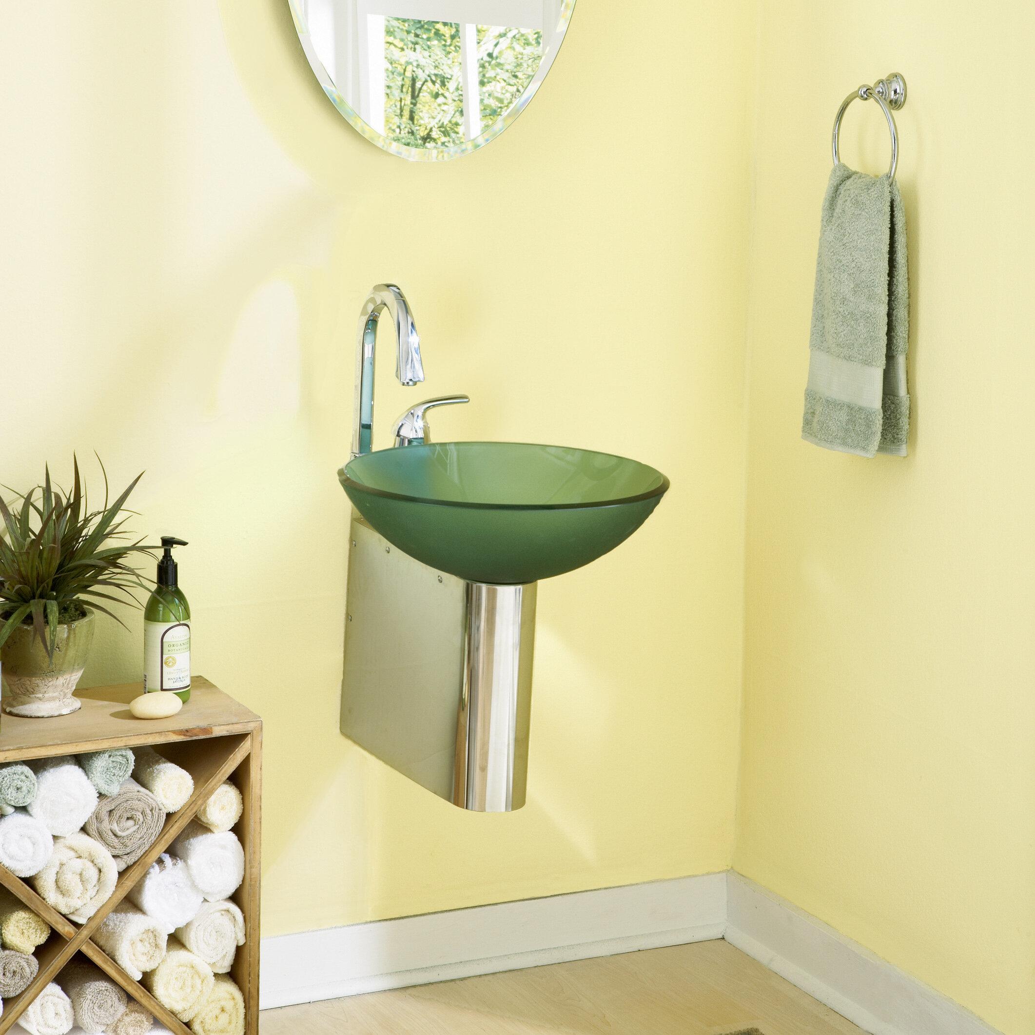 decolav wall mounted sink bracket wayfair - Wall Mount Sink