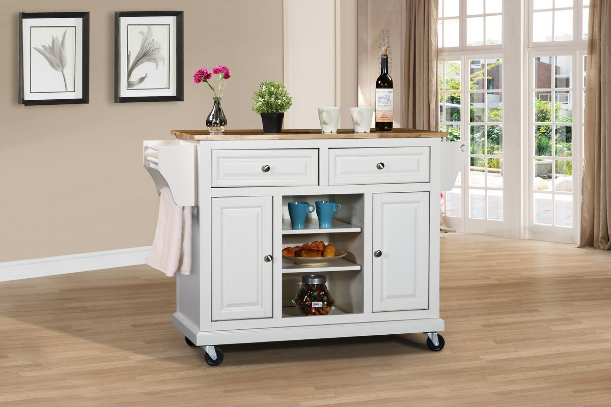 solid wood kitchen island kitchen island with solid wood top amp reviews joss amp 5612