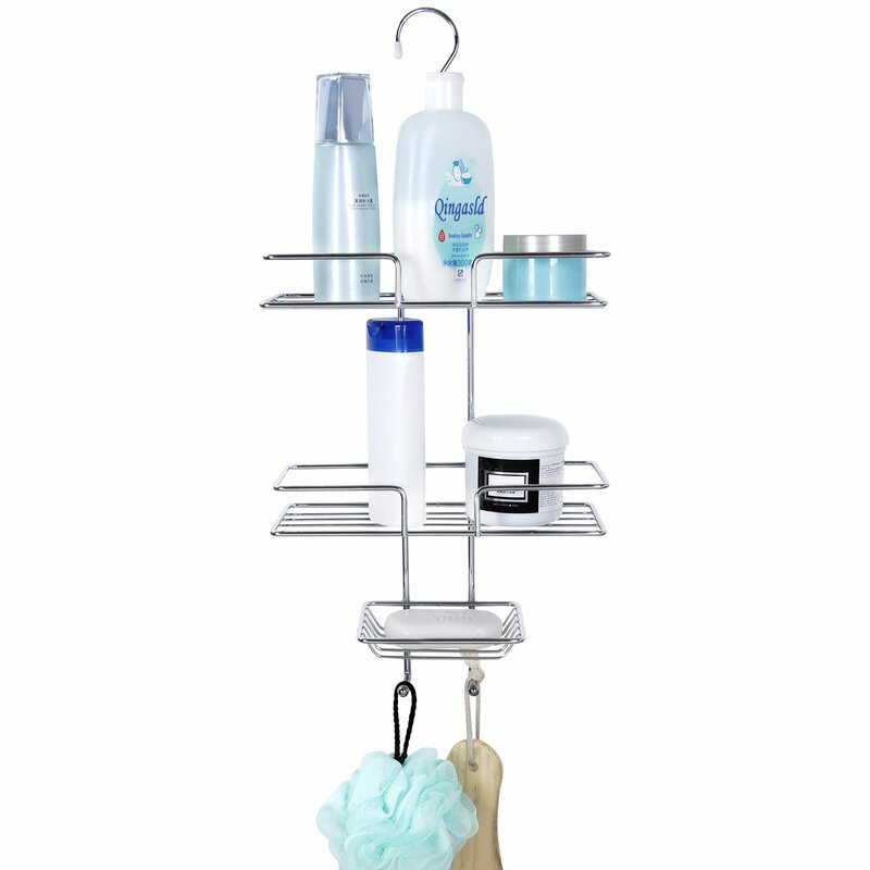 Rebrilliant Ayla 3 Tier Hanging Shower Caddy | Wayfair