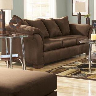 Lowell Espresso Sofa Wayfair