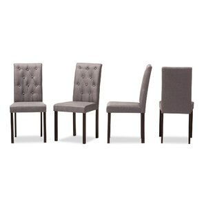 Baxton Studio Andrew Side Chair (Set of 4..
