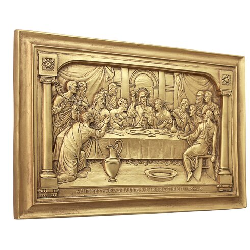 Dorable Last Supper Wall Art Motif - Wall Art Design ...