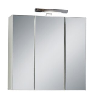 Superbe Keomi 70 X 69cm Wall Mounted Mirrored Cabinet