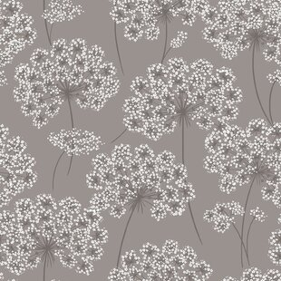 Nu 18 X 205 Angelica Gray Peel And Stick Wallpaper