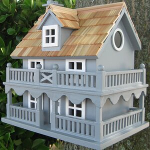 Classic Novelty Cottage 10.5 in x 7.5 in x 11 in Birdhouse