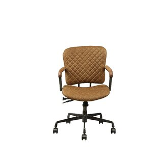 Demars Genuine Leather Office Chair