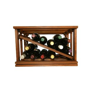 Allaire 12 Bottle Tabletop Wine Rack