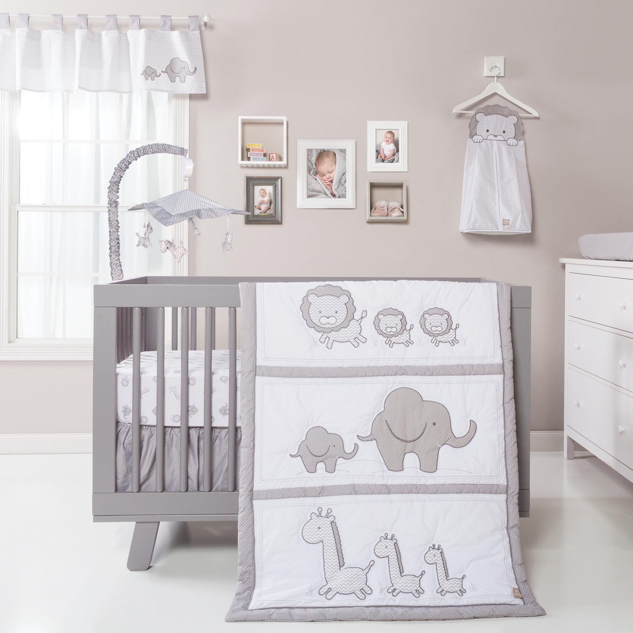 06f6957feecd Harriet Bee Trotman 3 Piece Crib Bedding Set   Reviews