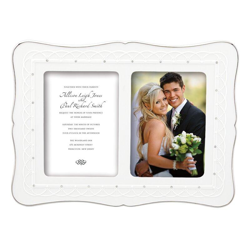 bliss double invitation frame 5x7 - Double 5x7 Frame