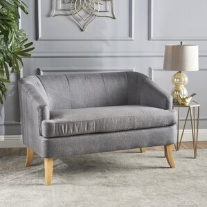 Vanmatre Fabric Loveseat b..