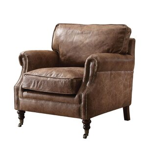 Attrayant Babita Top Grain Leather Club Chair