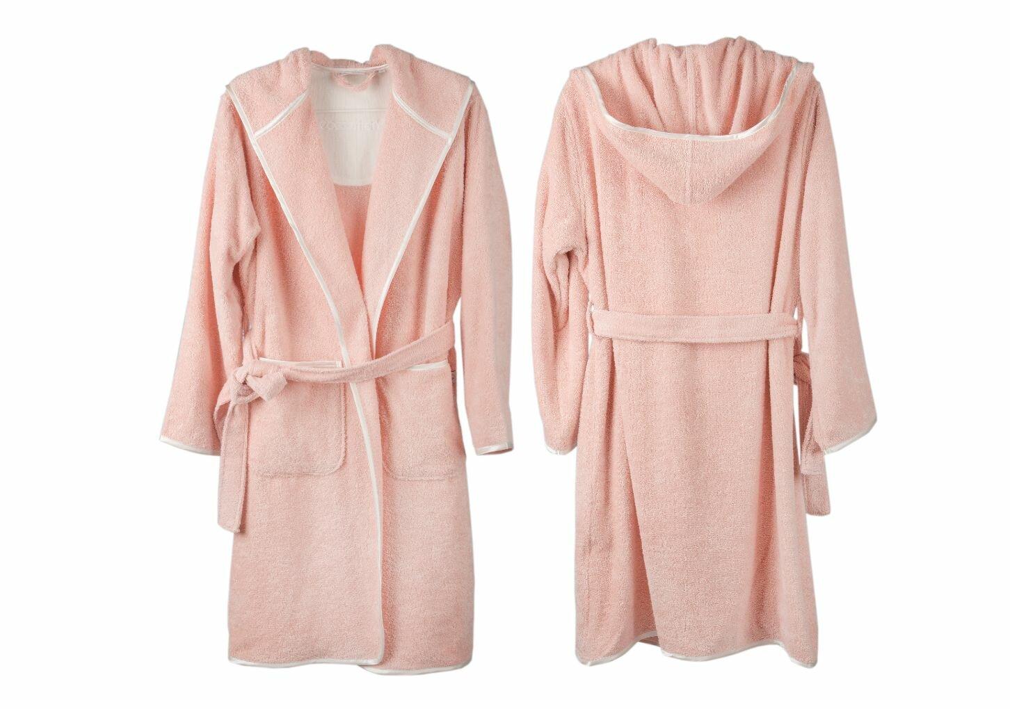 Cotton & Olive Organic Cotton Dressing Gown | Wayfair.co.uk
