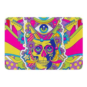 Skull by Roberlan Bath Mat