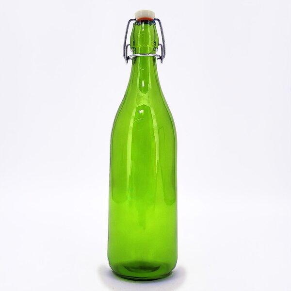 42bc4e33e3e1 Glass Bottle Swing Top | Wayfair
