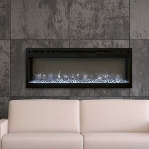 Spectrum Wall Mount Electric Fireplace by Modern Flames