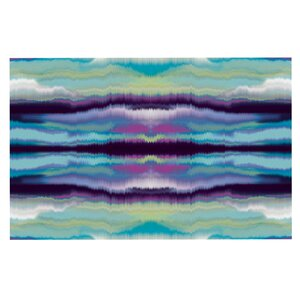 'Artik Blue Stripe' Doormat