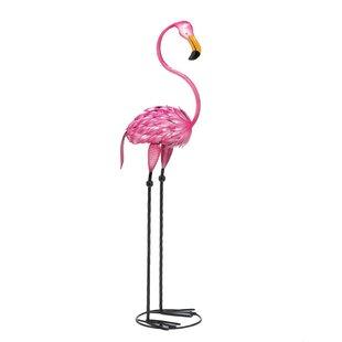 Fabulous Flamingo Garden Statue