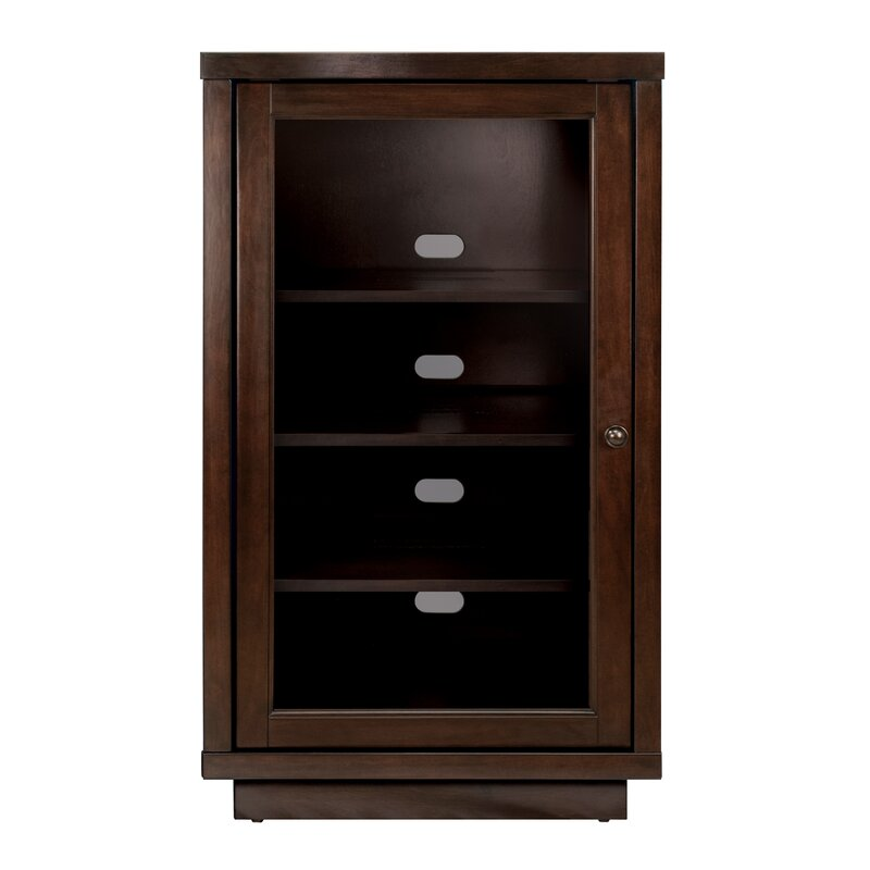 Darby Home Co Traditional Audio Cabinet with Glass Doors & Reviews ...