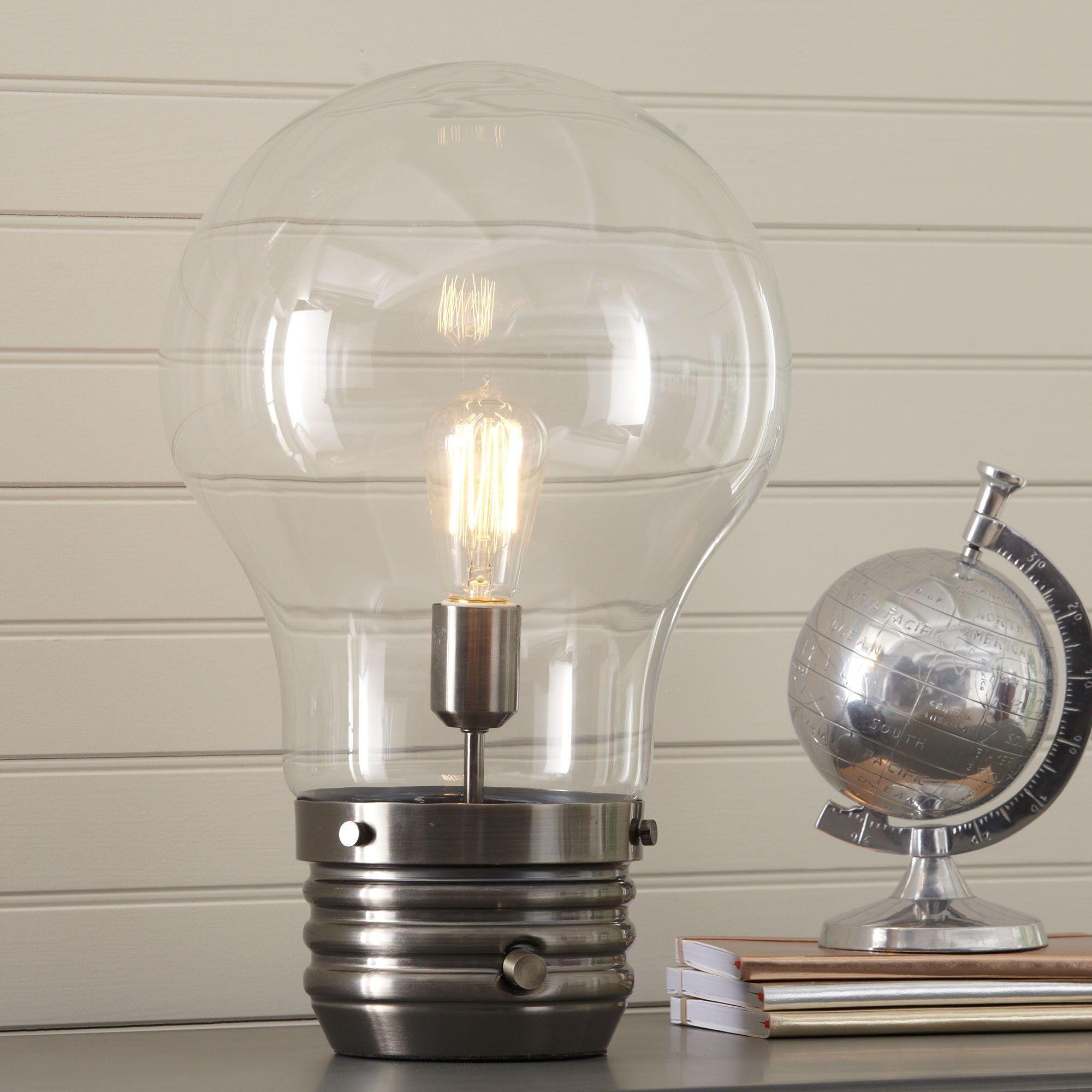 globe vintage picked lamp lamps