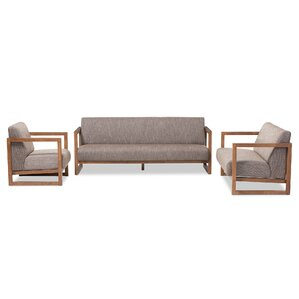 Valencia 3 Piece Living Room Set by Wholesale Interiors
