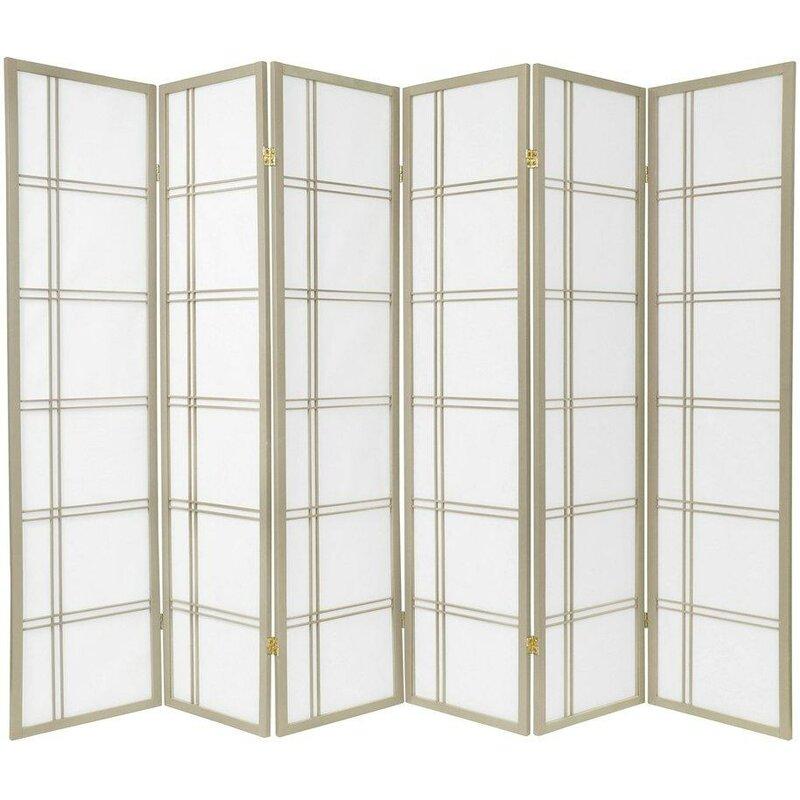 Marla 6 Panel Room Divider