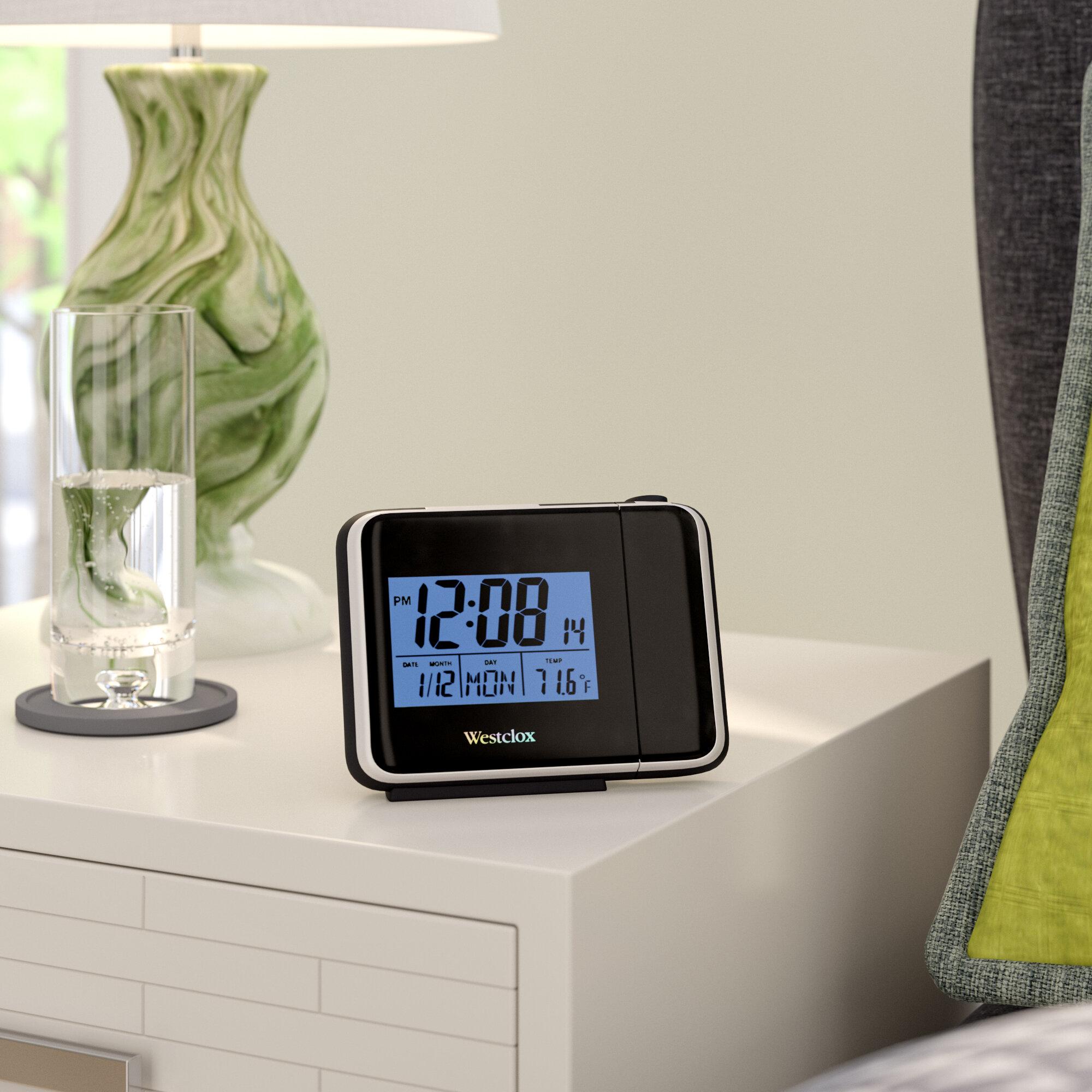 Latitude Run Digital LCD Projection Alarm Tabletop Clock | Wayfair