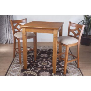 Mignone 3 Piece Pub Table Set